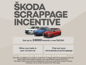 Upto £4000 Scrappage Support