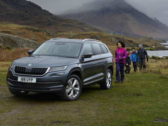 Discover the stunning new ŠKODA Kodiaq SUV with optional 7 seats from just £297.59 per month.