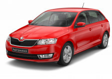 ŠKODA Rapid Spaceback with 2.9% APR and £1800 deposit contribution. Plus order your new ŠKODA between 4-31 July and receive £500 of free fuel.